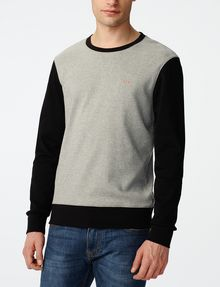ARMANI EXCHANGE Colorblock Crewneck Sweatshirt Crew Neck U f