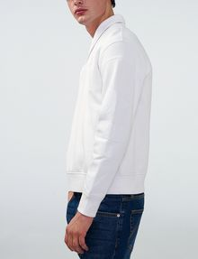 ARMANI EXCHANGE Shawl-Collar Distilled Logo Shirt V-Neck Man d