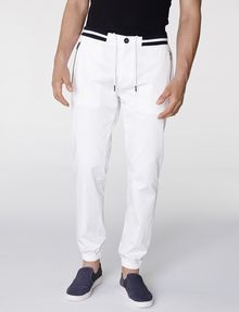 ARMANI EXCHANGE Double-Stripe Athletic Pant 3/4-length pant U f