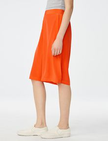 ARMANI EXCHANGE Silk Pull-On Culotte Dress Short D d