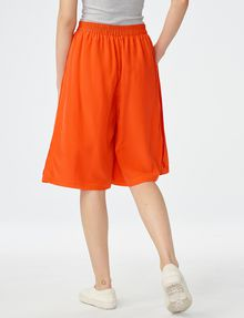 ARMANI EXCHANGE Silk Pull-On Culotte Dress Short D r
