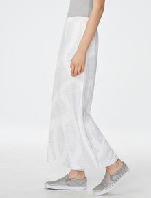 ARMANI EXCHANGE Voluminous Wide-Leg Trouser Culotte D d