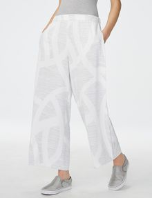 ARMANI EXCHANGE Voluminous Wide-Leg Trouser Culotte [*** pickupInStoreShipping_info ***] f