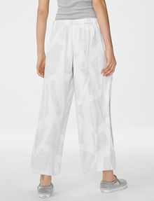 ARMANI EXCHANGE Voluminous Wide-Leg Trouser Culotte [*** pickupInStoreShipping_info ***] r