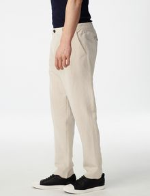 ARMANI EXCHANGE Linen Tencel Trouser Chino Man d