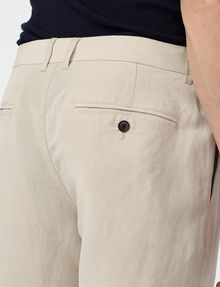 ARMANI EXCHANGE Linen Tencel Trouser Chino Man e