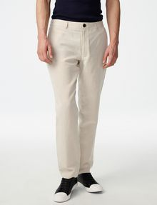 ARMANI EXCHANGE Linen Tencel Trouser Chino Man f