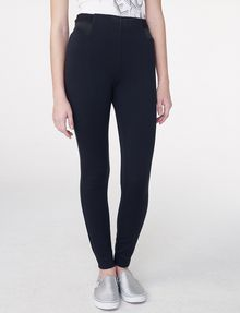 ARMANI EXCHANGE Ribbed Trim Legging Legging D f
