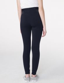 ARMANI EXCHANGE Ribbed Trim Legging Legging D r