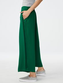 ARMANI EXCHANGE Voluminous Wide-Leg Trouser Culotte Woman d