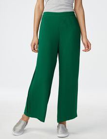 ARMANI EXCHANGE Voluminous Wide-Leg Trouser Culotte D f