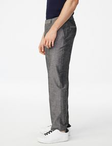 ARMANI EXCHANGE Linen-Blend Dress Pant Classic pants U d
