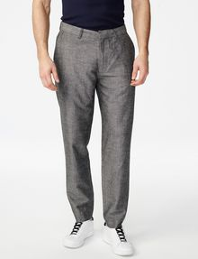 ARMANI EXCHANGE Linen-Blend Dress Pant Classic pants U f