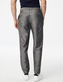 ARMANI EXCHANGE Linen-Blend Dress Pant Classic pants U r