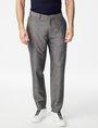 ARMANI EXCHANGE Linen-Blend Dress Pant Classic pants Man f