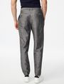 ARMANI EXCHANGE Linen-Blend Dress Pant Classic pants [*** pickupInStoreShippingNotGuaranteed_info ***] r