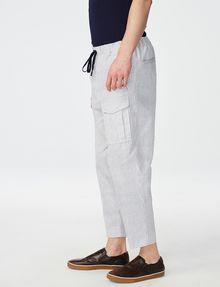 ARMANI EXCHANGE Two-Tone Linen Pant Cargo pant U d