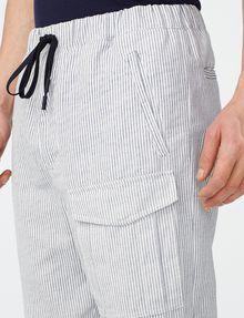 ARMANI EXCHANGE Two-Tone Linen Pant Cargo pant U e