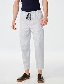 ARMANI EXCHANGE Two-Tone Linen Pant Cargo pant U f