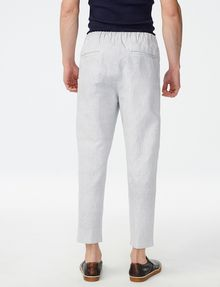 ARMANI EXCHANGE Two-Tone Linen Pant Cargo pant Man r