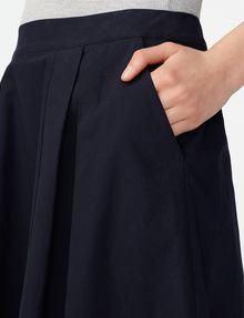 ARMANI EXCHANGE Voluminous Poplin Circle Skirt Skirt D e