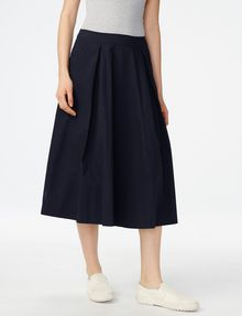 ARMANI EXCHANGE Voluminous Poplin Circle Skirt Skirt D f