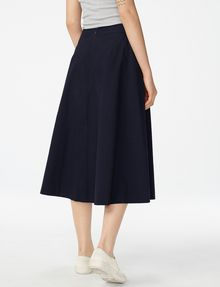 ARMANI EXCHANGE Voluminous Poplin Circle Skirt Skirt D r