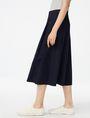 ARMANI EXCHANGE Voluminous Poplin Circle Skirt Skirt [*** pickupInStoreShipping_info ***] d