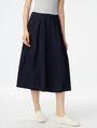 ARMANI EXCHANGE Voluminous Poplin Circle Skirt Skirt [*** pickupInStoreShipping_info ***] f