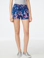 ARMANI EXCHANGE Drawstring Linen Short deleted shorts D f