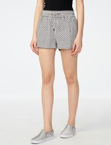 ARMANI EXCHANGE Drawstring Linen Short deleted shorts Woman f