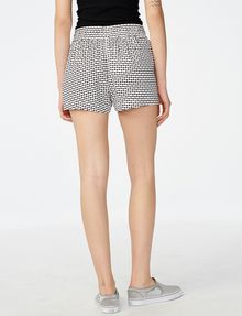 ARMANI EXCHANGE Drawstring Linen Short deleted shorts Woman r
