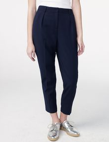 ARMANI EXCHANGE Pleat-Front Trousers Classic pants Woman f