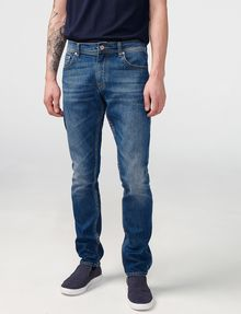 ARMANI EXCHANGE Skinny-Fit Distressed Jean Skinny Fit Denim U f