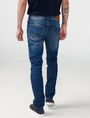 ARMANI EXCHANGE Skinny-Fit Distressed Jean Skinny Fit Denim U r