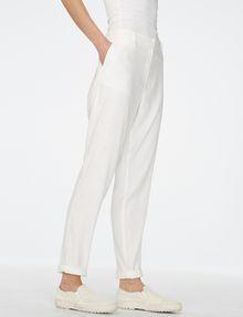 ARMANI EXCHANGE Clean Linen Trouser Classic pants Woman d