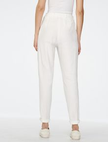ARMANI EXCHANGE Clean Linen Trouser Classic pants Woman r