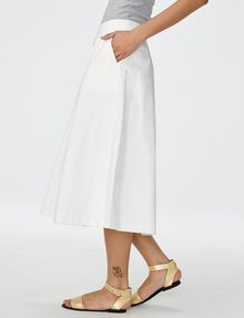 ARMANI EXCHANGE Voluminous Poplin Circle Skirt Skirt D d