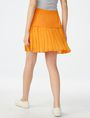 ARMANI EXCHANGE Two-Tier Pleated Miniskirt Skirt [*** pickupInStoreShipping_info ***] r
