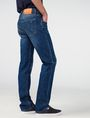 ARMANI EXCHANGE Medium-Wash Relaxed Straight-Fit Jean Straight Fit Denim U d