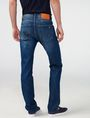 ARMANI EXCHANGE Medium-Wash Relaxed Straight-Fit Jean Straight Fit Denim U r