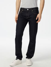 ARMANI EXCHANGE Dark Rinse Slim-Fit Jean Slim Fit Denim U f