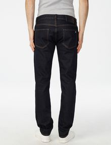 ARMANI EXCHANGE Dark Rinse Slim-Fit Jean Slim Fit Denim U r