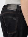 ARMANI EXCHANGE Dark Rinse Slim-Fit Jean Slim Fit Denim U e