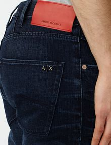 ARMANI EXCHANGE Relaxed Straight Fit Straight Fit Denim U e