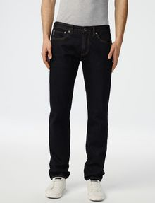 ARMANI EXCHANGE Dark Rinse Straight-Leg Jean Straight Fit Denim U f