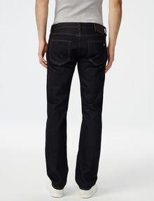 ARMANI EXCHANGE Dark Rinse Straight-Leg Jean Straight Fit Denim U r