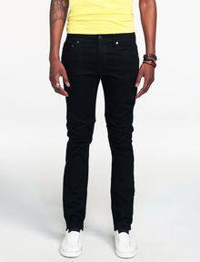 ARMANI EXCHANGE Yarn-Dye Black Slim-Fit Jean Skinny Fit Denim U f