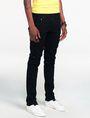 ARMANI EXCHANGE Yarn-Dye Black Slim-Fit Jean Skinny Fit Denim U d