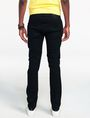 ARMANI EXCHANGE Yarn-Dye Black Slim-Fit Jean Skinny Fit Denim U r